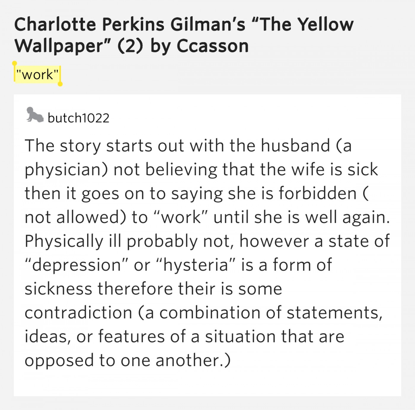 006 The Yellow Wallpaper Essay Example Top Feminism Questions Conclusion 1400
