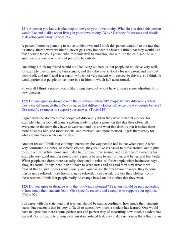 006 Toefl Ibt Essay Topics Example Success Speaking Writing Sample  58517ac4b6d87fb8408b582e Striking 2015Large