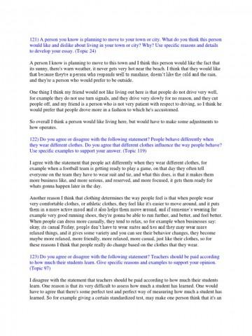 006 Toefl Ibt Essay Topics Example Success Speaking Writing Sample  58517ac4b6d87fb8408b582e Striking 2015360