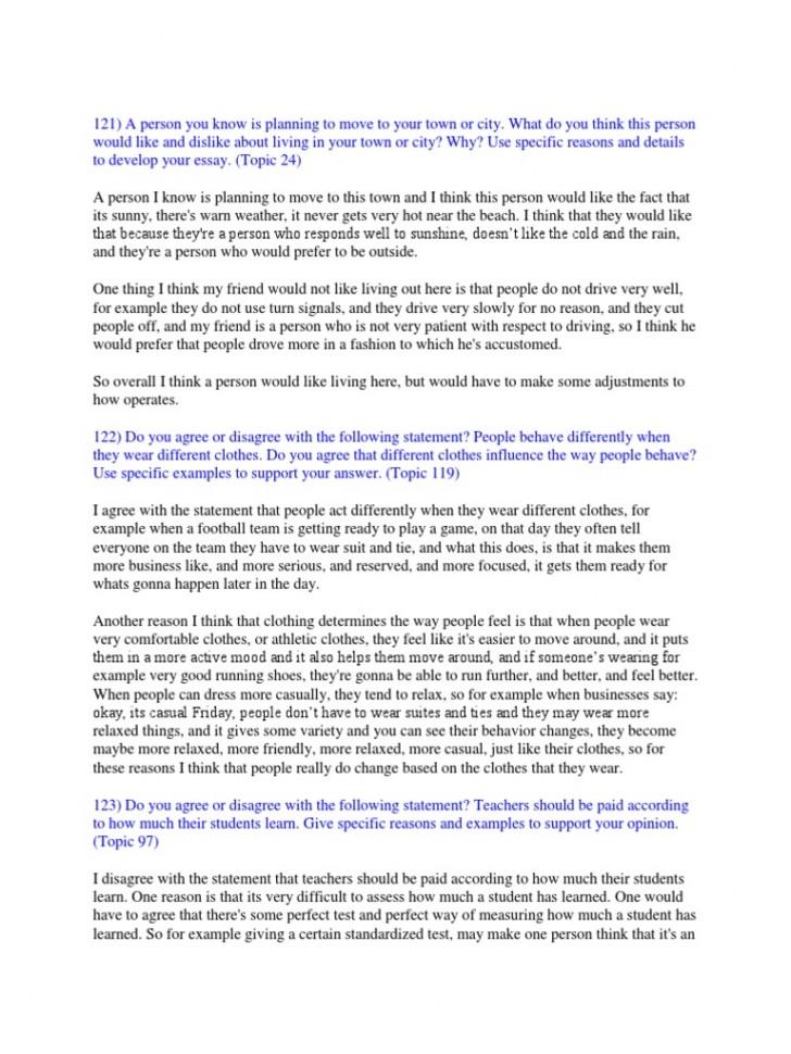 006 Toefl Ibt Essay Topics Example Success Speaking Writing Sample  58517ac4b6d87fb8408b582e Striking 2015728