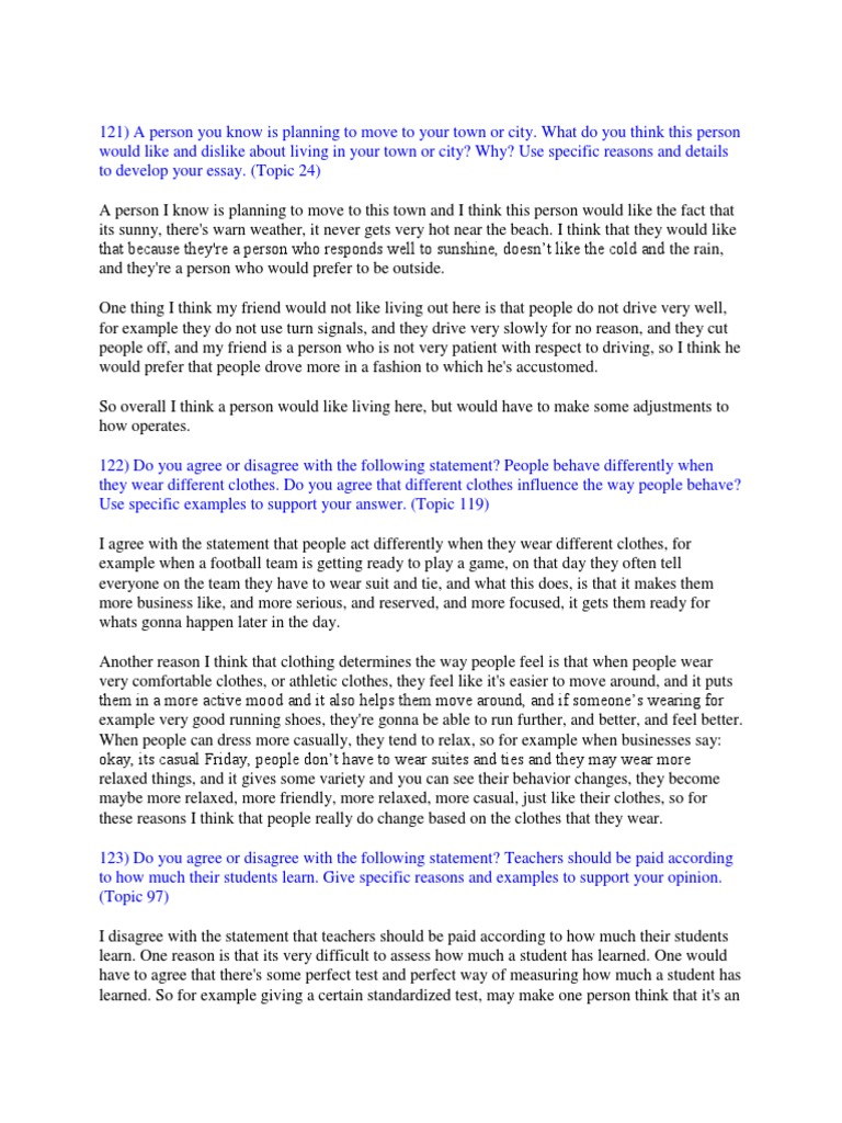 006 Toefl Ibt Essay Topics Example Success Speaking Writing Sample  58517ac4b6d87fb8408b582e Striking 2015