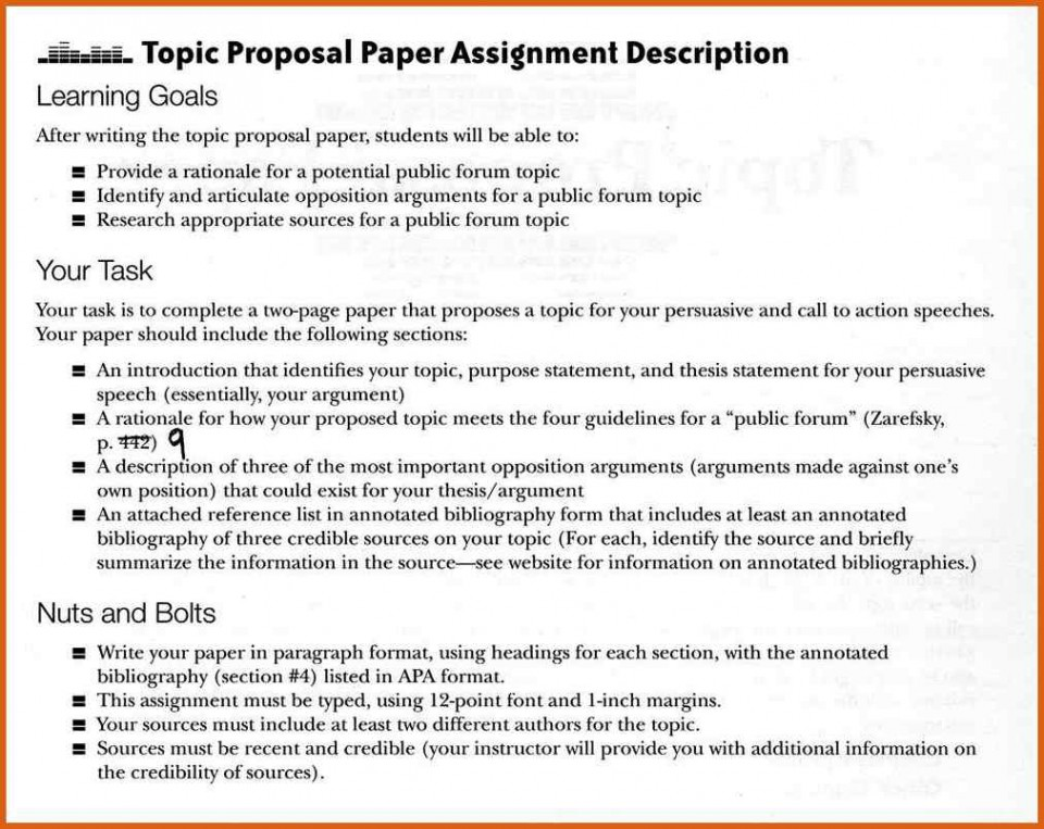 Rutgers thesis proposal