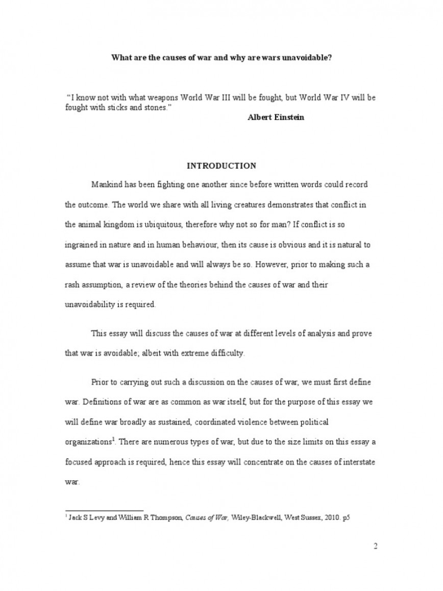 006 War Essay Wwi What Are The Causes Of Methodology Worlds Ww1 Unbelievable Against Terrorism Short In English Vietnam Hook Introduction