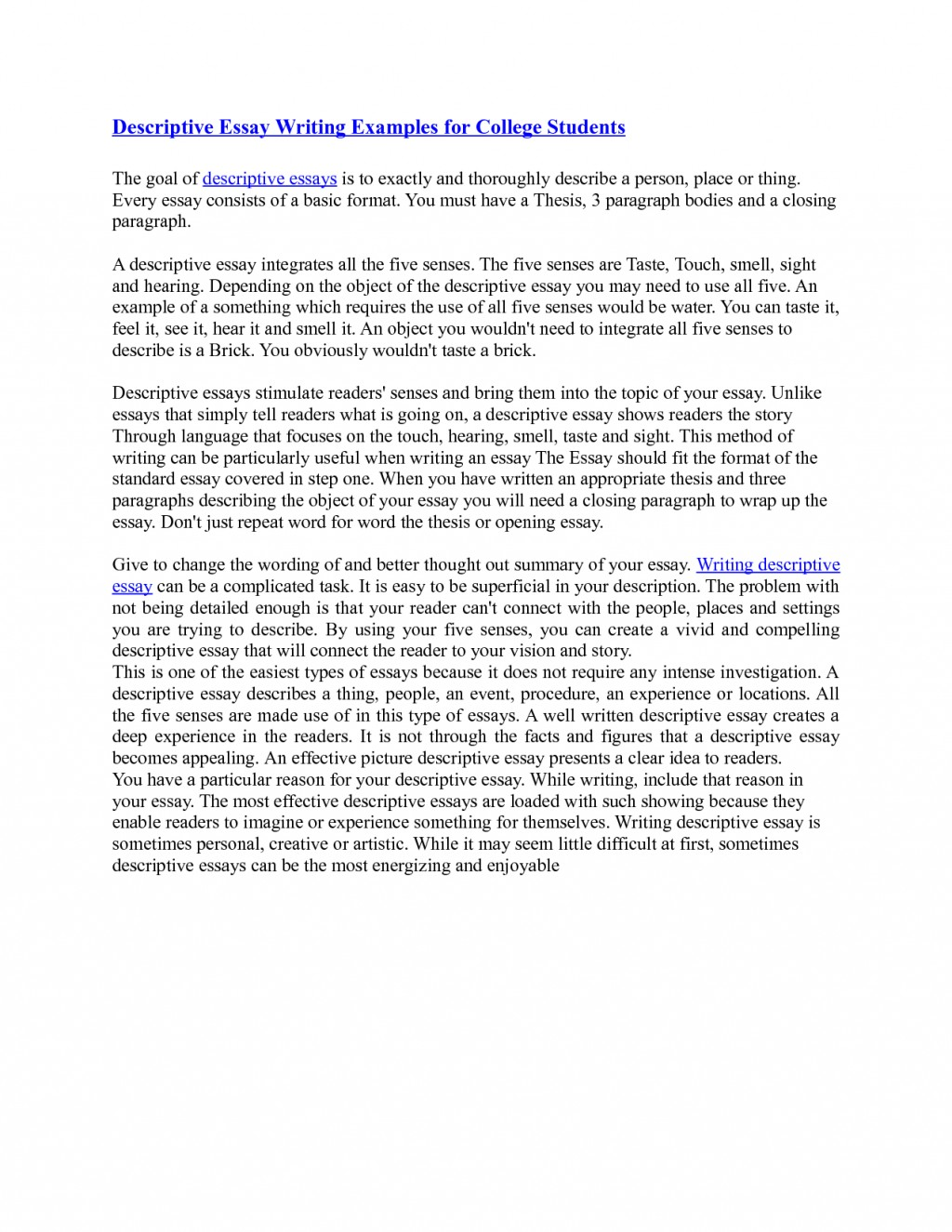 006 What Is Essay Writing Example On Letter With Formidable Examples For Class 7 Narrative Pdf Format In English Large