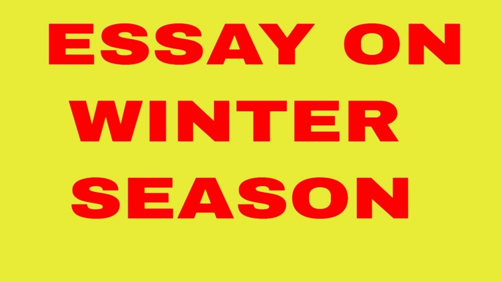 006 Winter Essay Maxresdefault Phenomenal Topics Season For Class 7 In Urdu On 6 Large