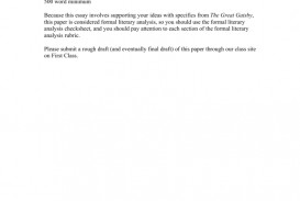 007 008810006 1 Essay Example Great Gatsby American Fantastic Dream Conclusion The Pdf Free