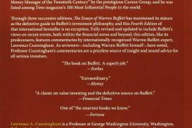 007 91viw96oq0l Die Essays Von Warren Buffett Essay Archaicawful Das Buch Für Investoren Pdf Und Unternehmer