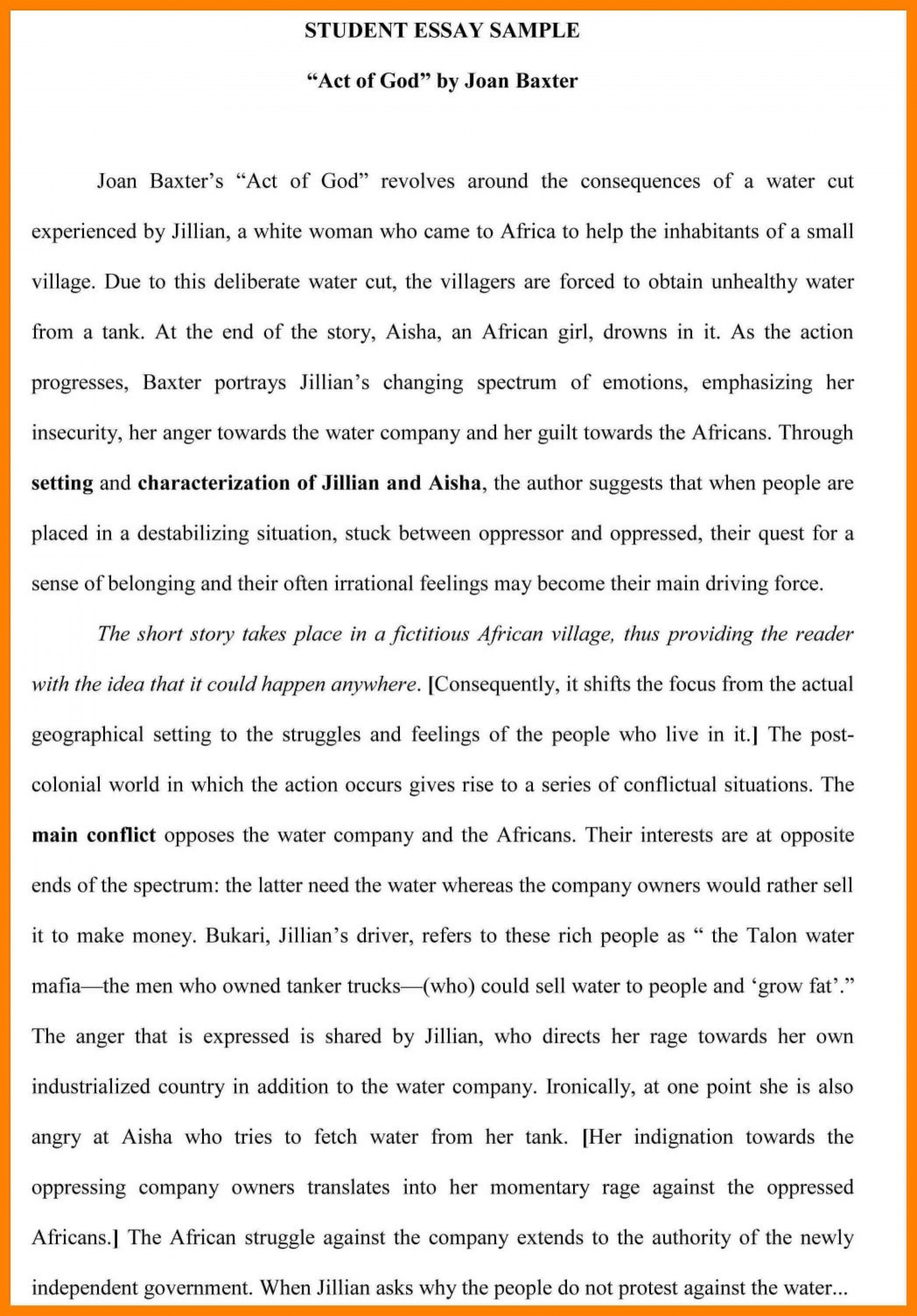007 Act Practice Essay Example An Professional Homework Editing ...