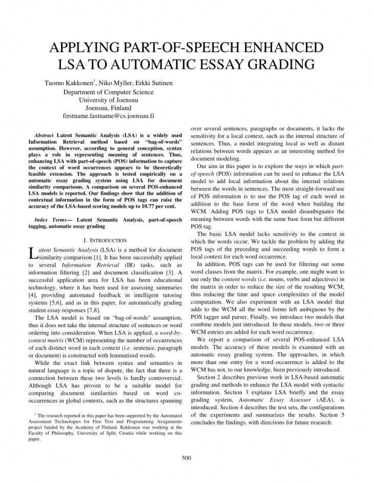 007 Automatic Essay Grader Free Example Singular 728