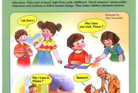 007 Basic Table Manners Essay On Good For Child Wonderful