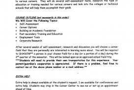 007 Career Development Essay Example Plans Template Plan Planni Outline Goal Exploration Nursing Wonderful Topics Program