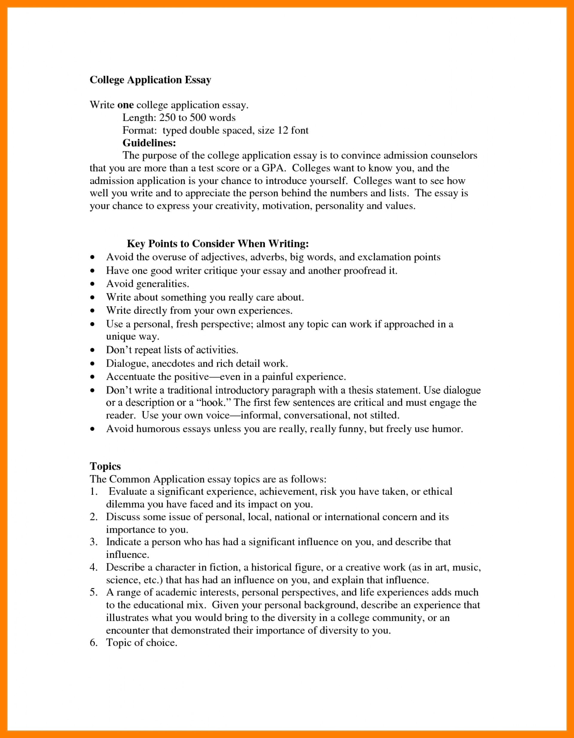007 College Admission Essay Format Of Application Example Template Com Guidelines Sample Heading Awesome Examples 1920