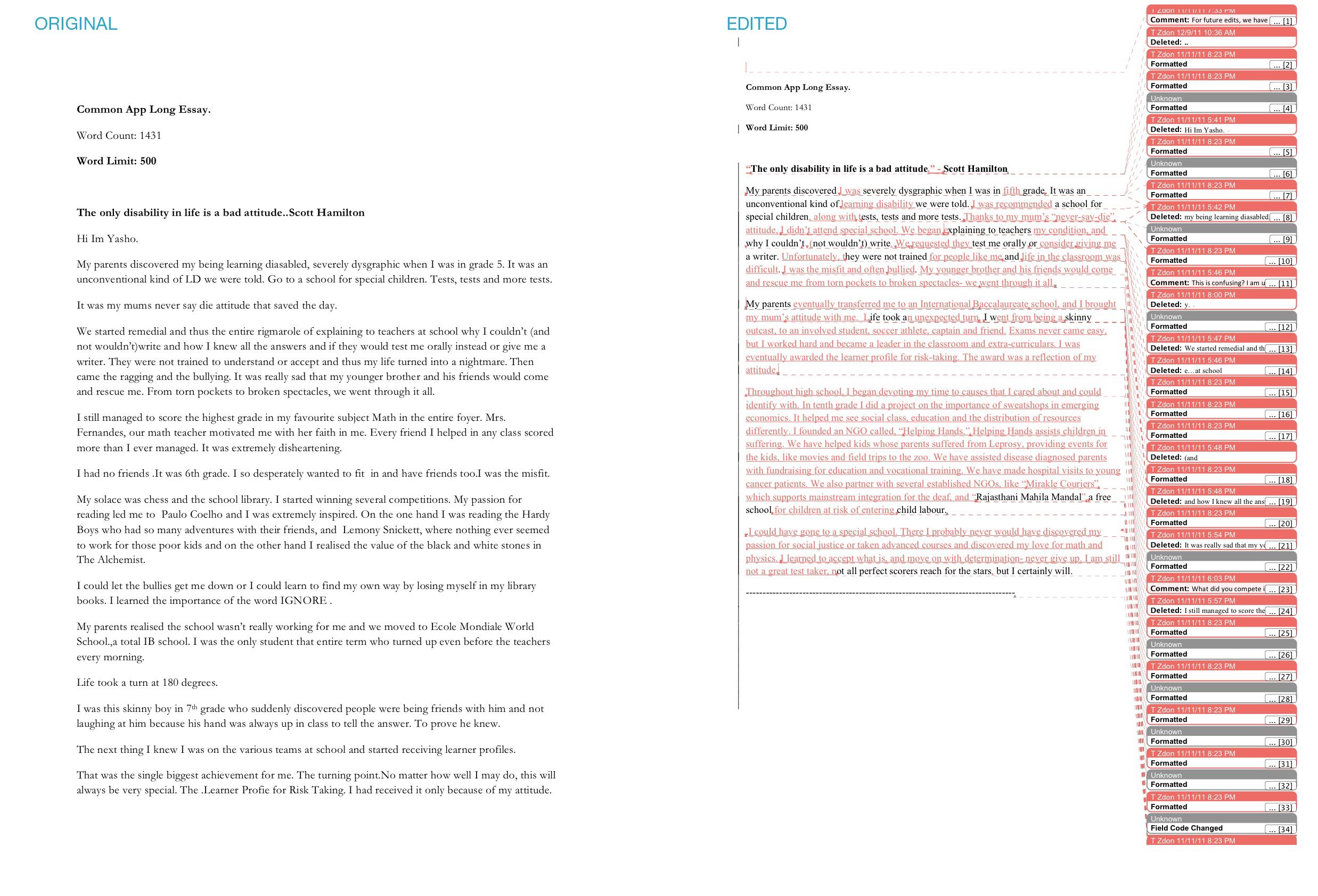 007 Common Application Essay App Example Best Essays Samples Option 1 Prompt 2016 2017 Full