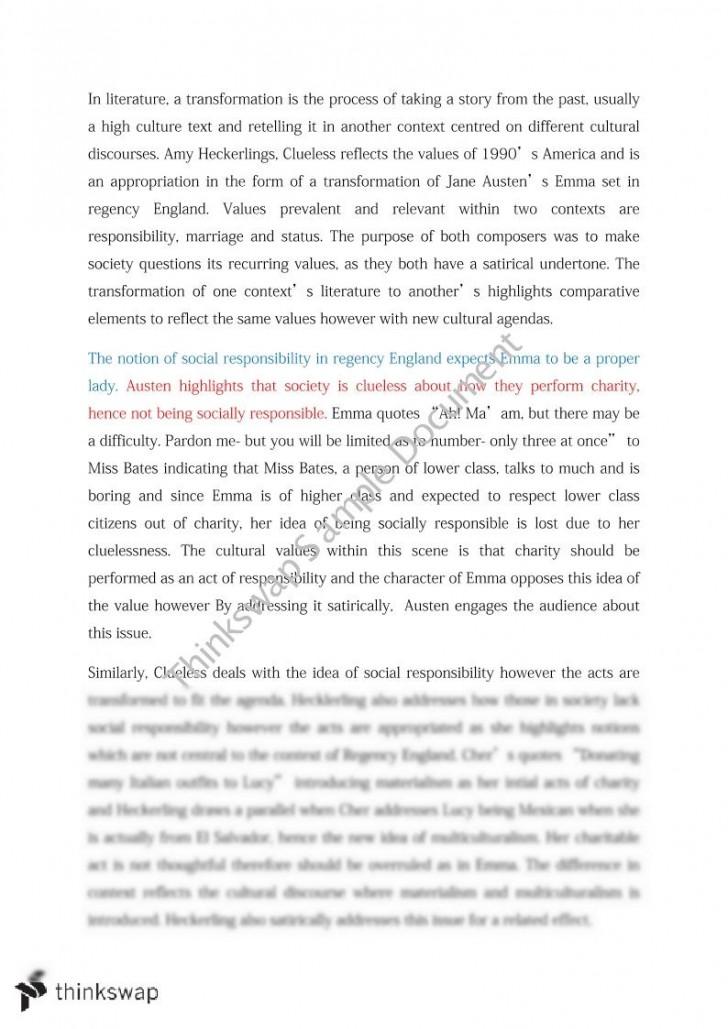 Communications essay