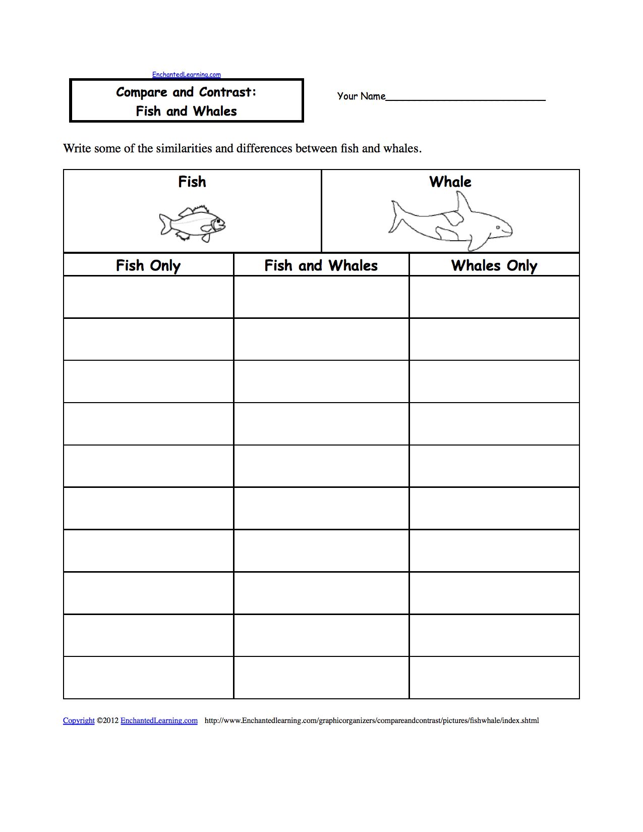 007 Compare And Contrast Essay Graphic Organizer Page Wondrous Middle School Full
