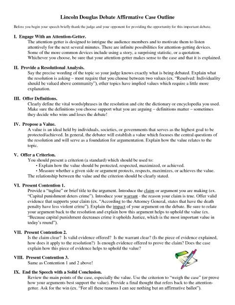 007 Debate Essay Topics Example Lincoln Douglas Affirmative Marvelous Prompts Persuasive High School 480