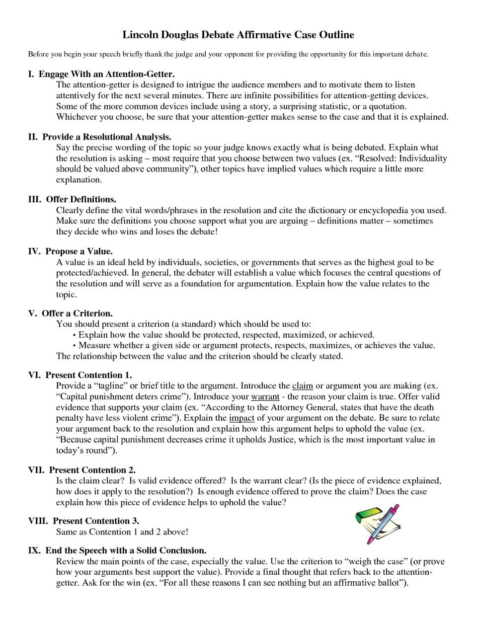 007 Debate Essay Topics Example Lincoln Douglas Affirmative Marvelous Prompts Persuasive High School 960