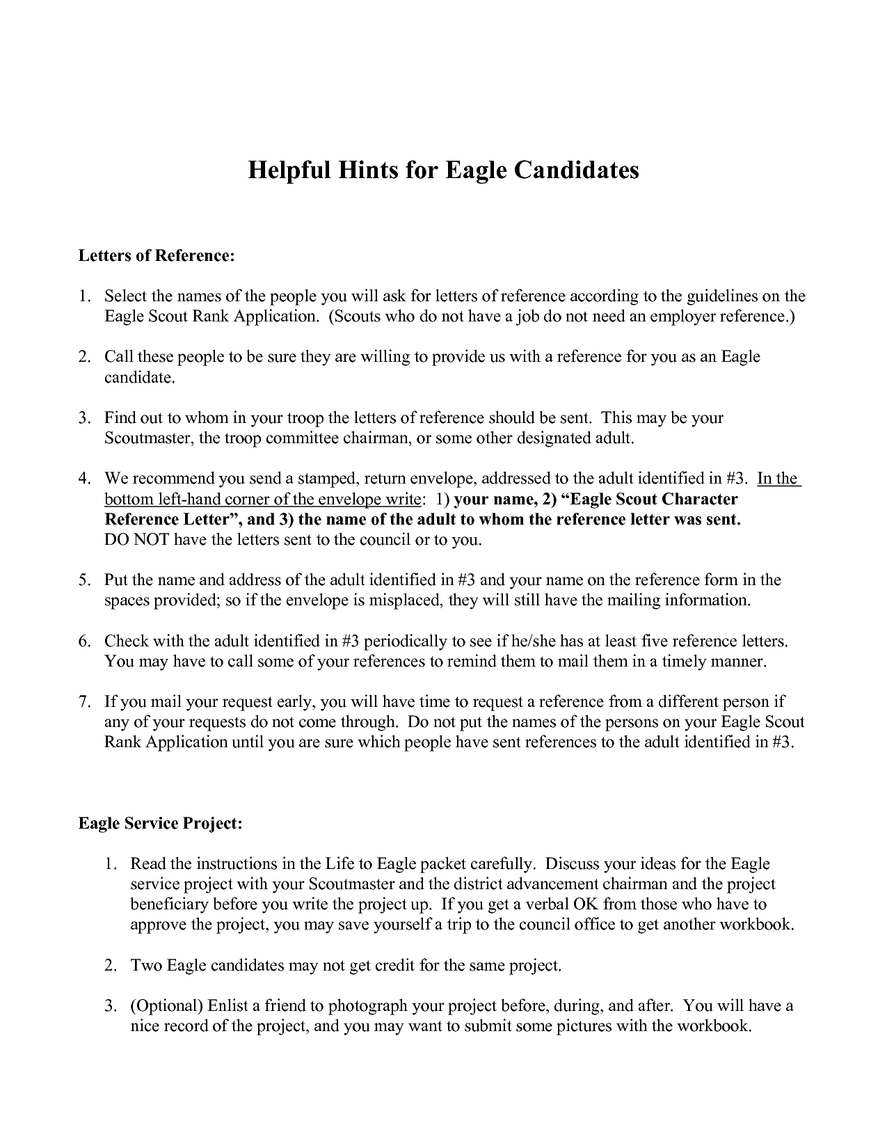 Eagle Scout Reference Letter Example.007 Eagle Scout Reference Letter Example Thatsnotus