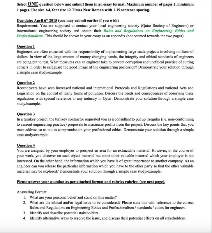 Lab report topics
