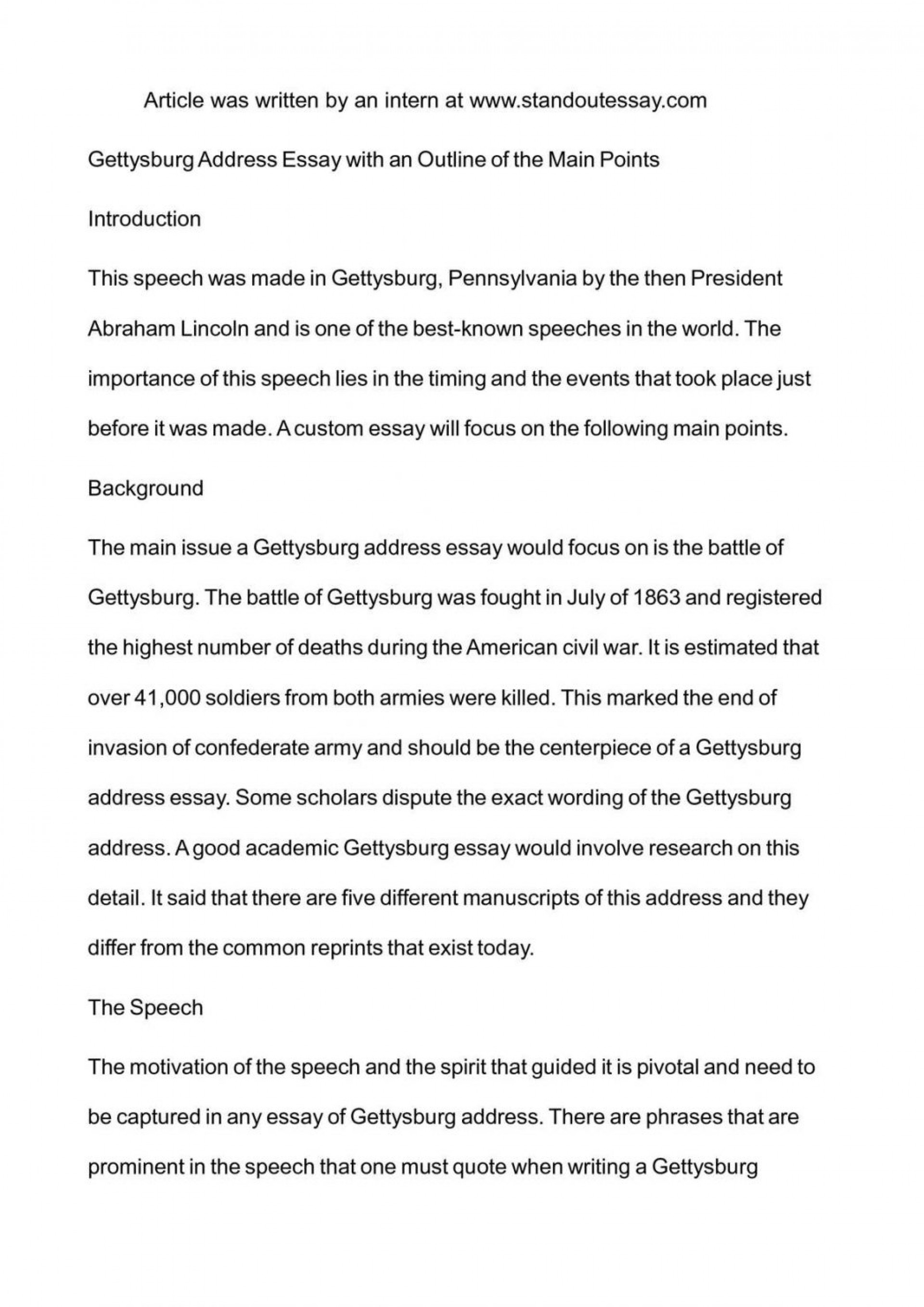 gettysburg address meaning today