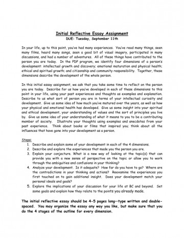 007 Essay Example 008579814 1 Amazing Reflective Rubric Doc Format Apa Examples About Writing 360