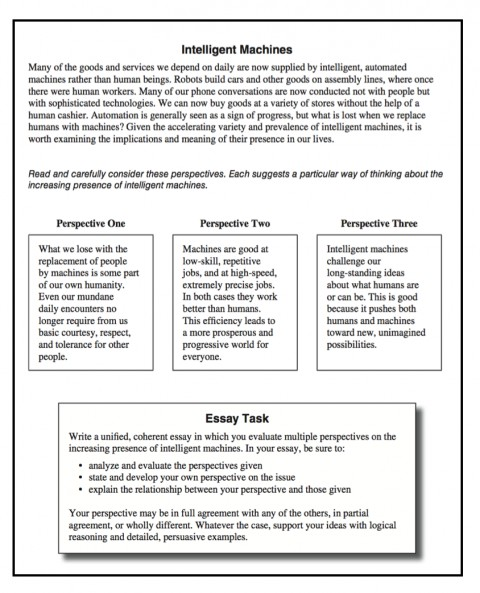 007 Essay Example Act Sample Sat Prompt Ideas How To Write Good Screen Shot Prompts Aspire Writing Fearsome New Time Limit Rubric Tips 480
