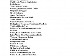 007 Essay Example Argument Topics 2013 Social Outstanding Issues
