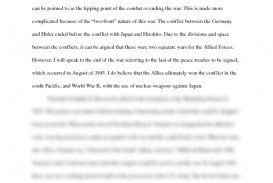 007 Essay Example Atomic Bomb Shocking Outline Conclusion Good Title For