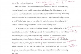 007 Essay Example Autobiographysample2 Sample Unforgettable Biography About Myself Elementary Self