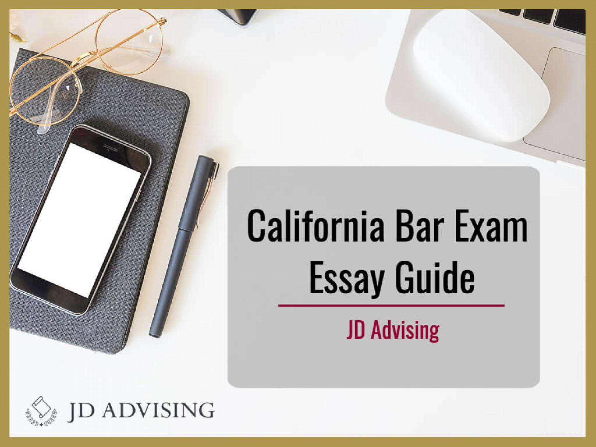 007 Essay Example California Bar Essays Exam Marvelous Graded February 2018 How Are 1920