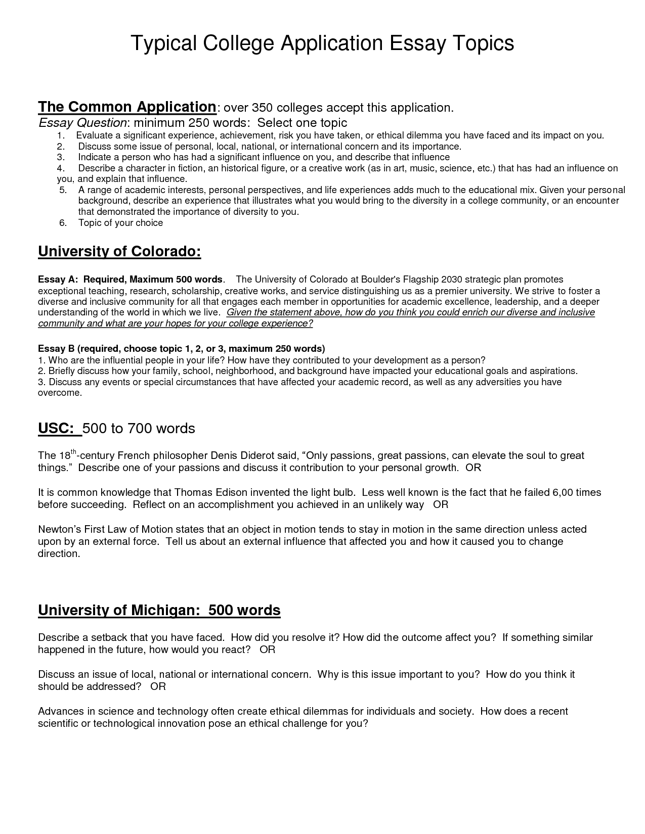 007 Essay Example College Application Essays Topics Vatoz Atozdevelopment Co Best Questions L Common App Examples Prompts Admission Format Fearsome Great Good For High Schoolers School Students Interesting Middle Full