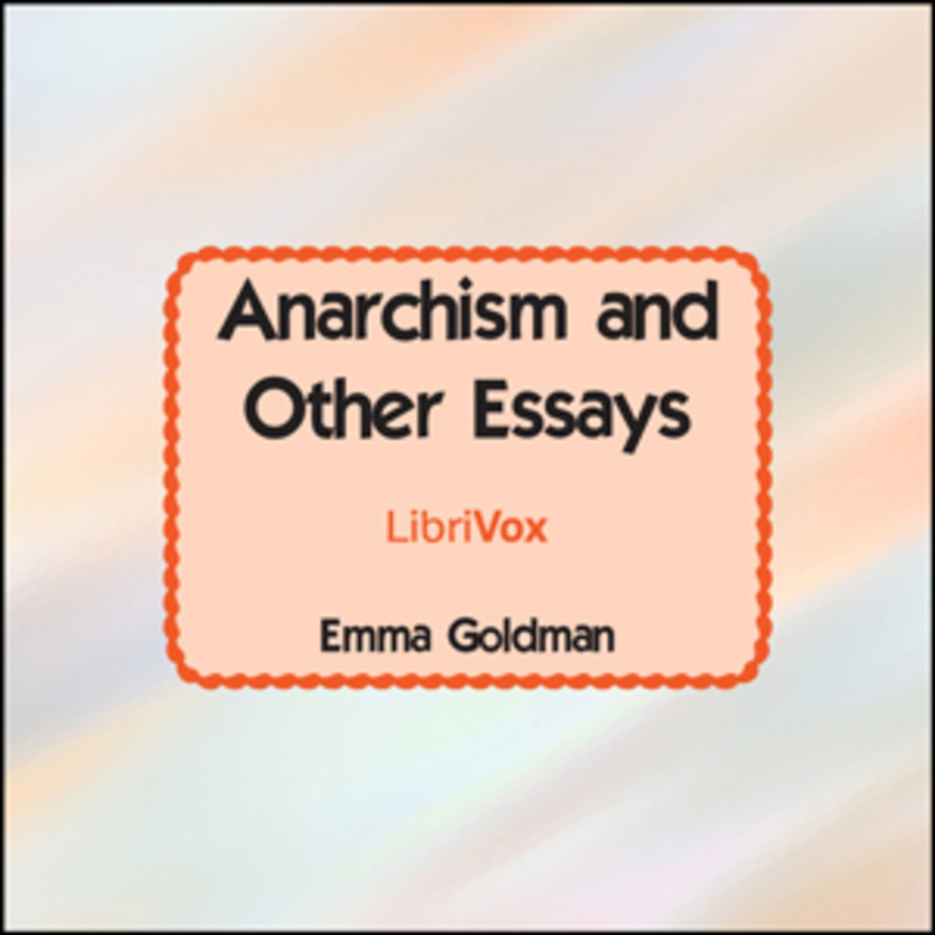 007 Essay Example Default Anarchism And Other Incredible Essays Emma Goldman Summary Pdf 1920