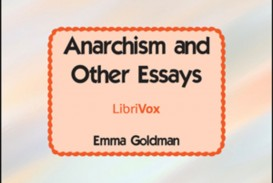 007 Essay Example Default Anarchism And Other Incredible Essays Emma Goldman Summary Mla Citation