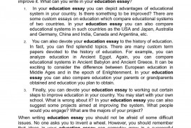 007 Essay Example Education 2489220153 For And Against Astounding Inclusive Titles Emerson Analysis