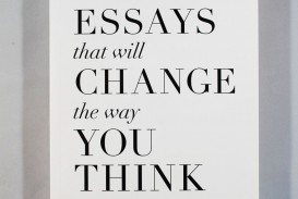 007 Essay Example Essays That Will Change The Way You Think Unusual 101 Book Depository Barnes And Noble Review