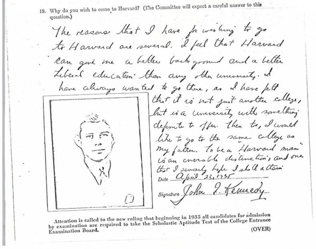007 Essay Example Harvard Acceptance Essays John Kennedy Jfk University Application Frightening 50 Successful Pdf Free 2017 3rd Edition Large