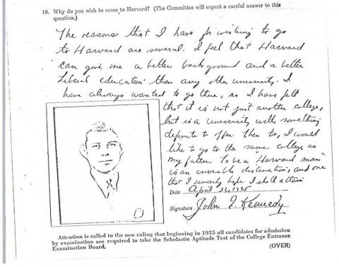 007 Essay Example Harvard Acceptance Essays John Kennedy Jfk University Application Frightening 50 Successful Pdf Free 2017 3rd Edition 480