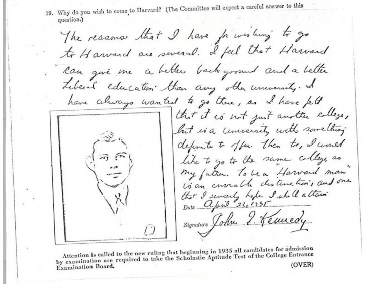 007 Essay Example Harvard Acceptance Essays John Kennedy Jfk University Application Frightening 50 Successful Pdf Free 2017 3rd Edition 728