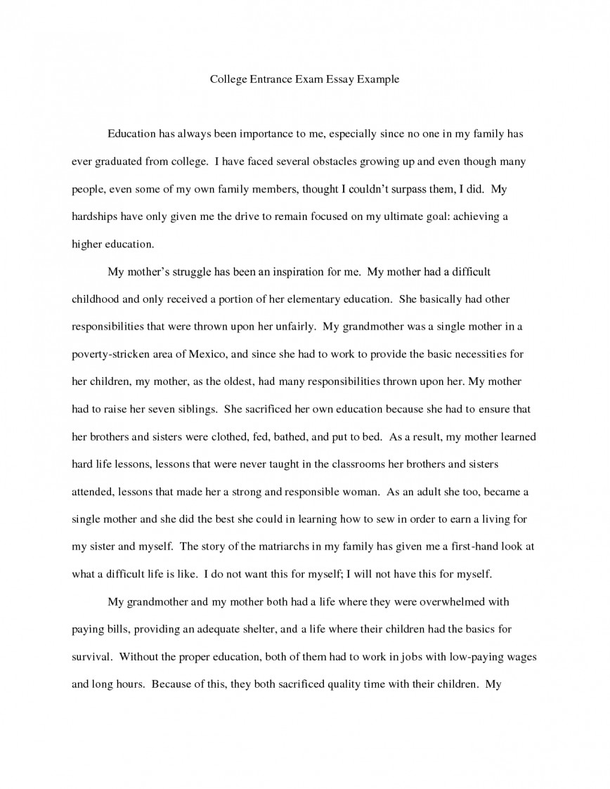 007 Essay Example Ideas Good College Essays L Amazing Examples For 7th Grade 4th Graders
