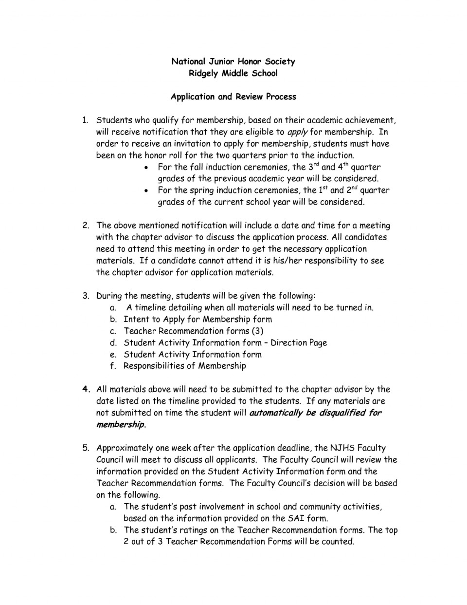 007 Essay Example Njhs Conclusion National Honors Society Examples Of Honor Junior Unique 960