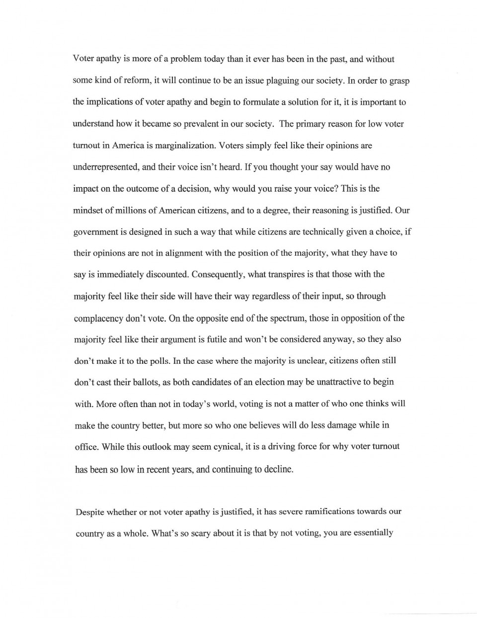 Afsa high school essay contest