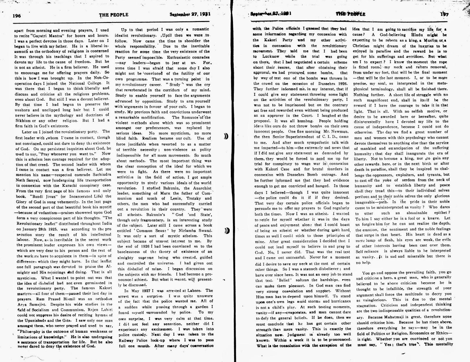 007 Essay Example On Bhagat Singh In Marathi Why2bi2bam2ban2batheist2b2 Unique Short 100 Words Full