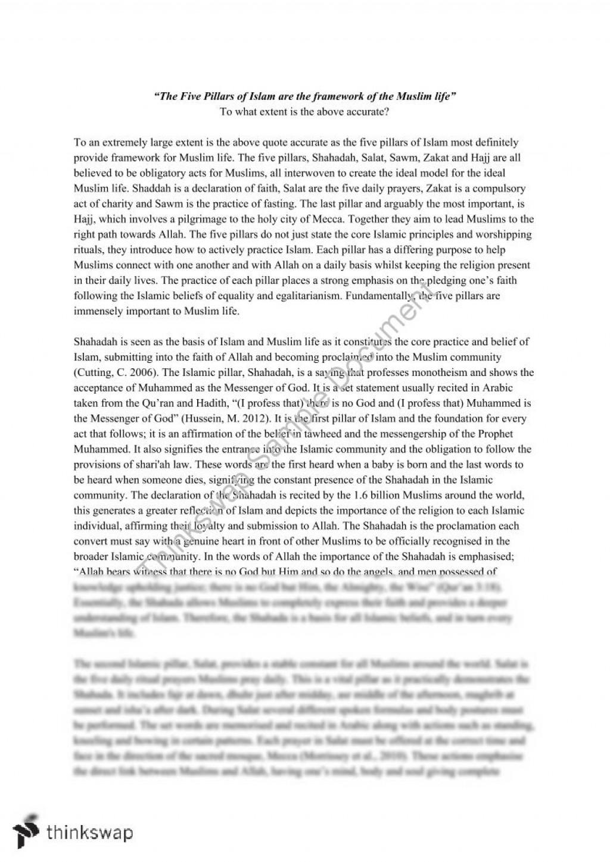 007 Essay Example On Islam 88213 Pillarsessay Fadded41 Awful Persuasive Islamophobia My City Islamabad In Urdu Religion Hindi Large