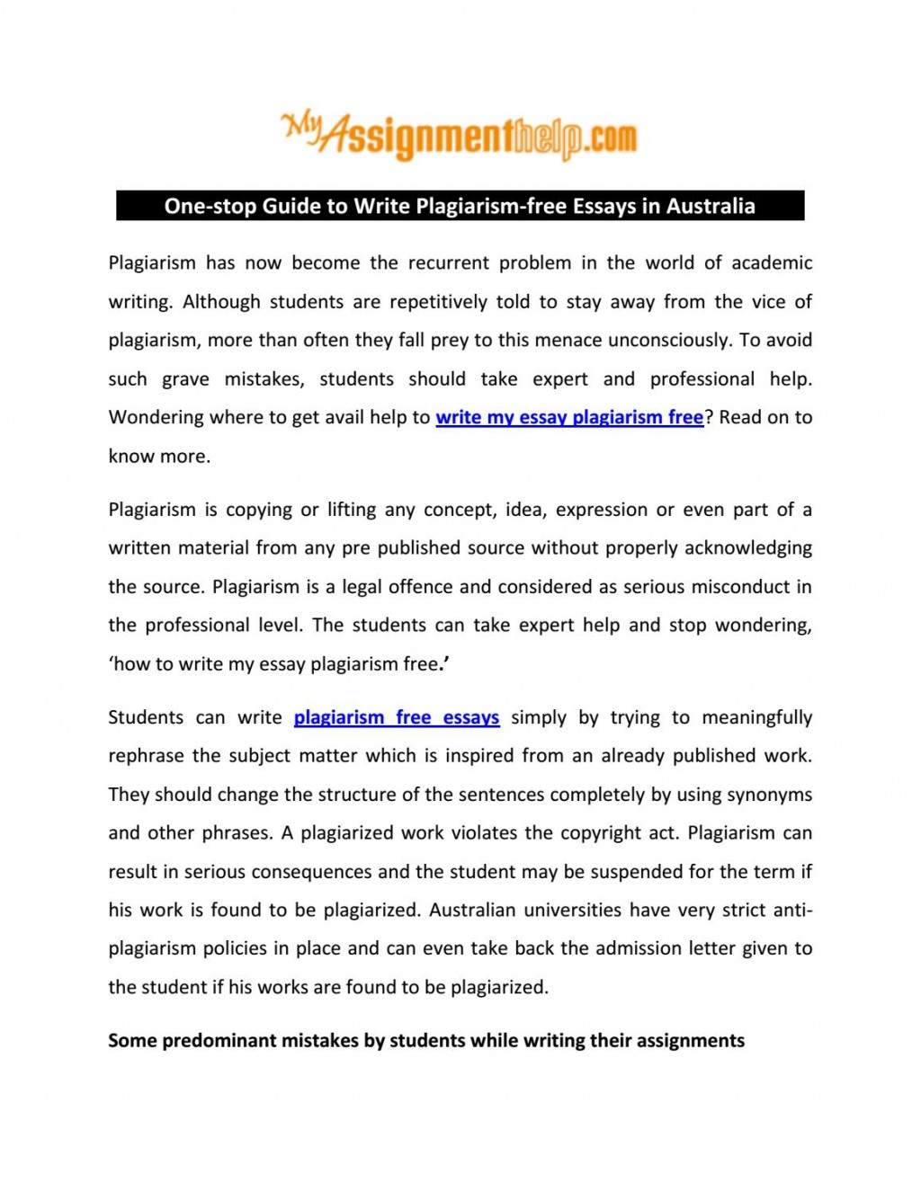 007 Essay Example Plagiarism Free Essays Page 1 Impressive 100 Check Large