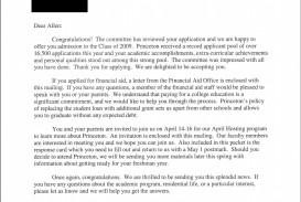 007 Essay Example Princeton Body Princetonacceptanceletter Astounding Review College Guide Graded Confidential