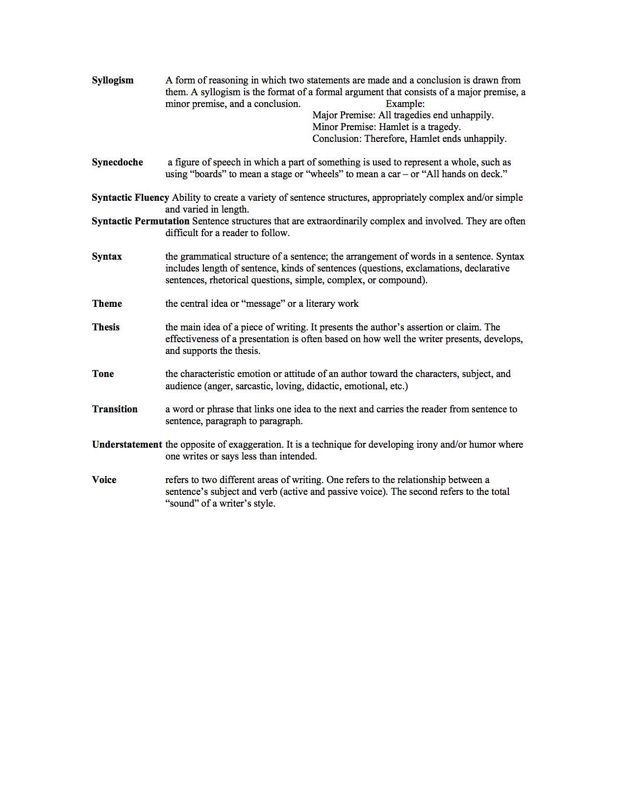 007 Essay Example Rhetorical Dreaded Definition Analysis Meaning Full