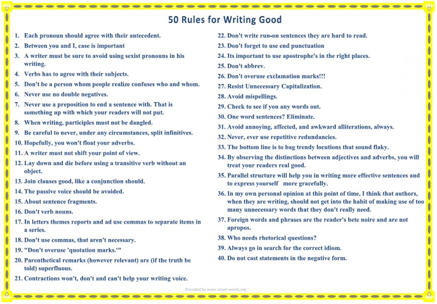 007 Essay Example Rules For Writing Good How To Write An In Outstanding English Interview Literature Igcse Upsc Exam