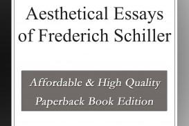 007 Essay Example Schiller Essays Awful Friedrich