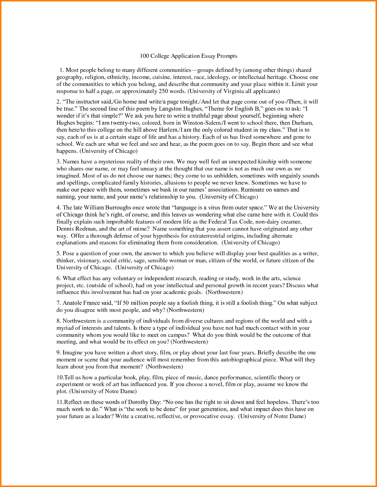 007 Essay Example Scholarship Essays On Future Goals College Prompts L Magnificent Robertson 2018-19 Vanderbilt Washington And Lee Johnson Full