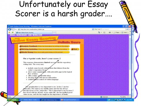 007 Essay Example Scorer Unfortunately Our Is Harsh Grader Impressive Score Sat 8 Free Perfect 480